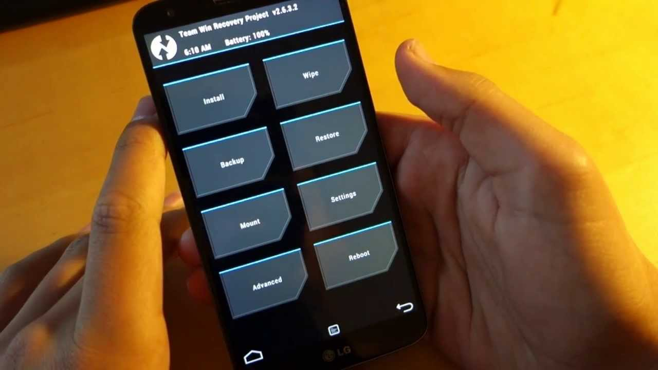 LG G2: How To Install Custom Recovery (Easy Method)