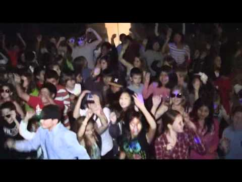 Poinsettia Elementary Sings Area and Volume (Party Rock) - YouTube