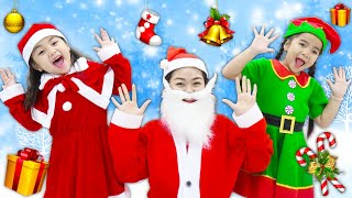 Download lagu Suri Annie Pretend Play Christmas Story with Santa Claus and Presents