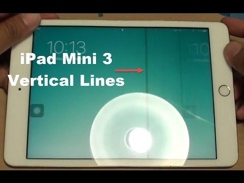 iPad Mini 3: Fixing Vertical Lines LCD Error