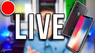 En Live avec l'iPhone X ! 🔥