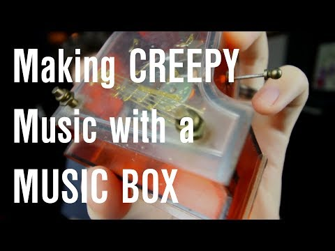 MAKING A HIP HOP BEAT with a Music Box CREEPY!!