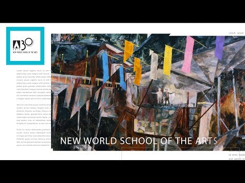 New World School of the Arts - NWSA Year in Review 2016-2017