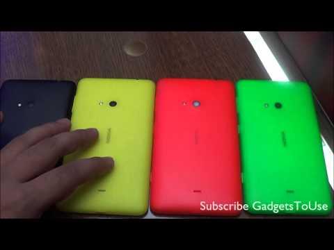 Nokia Lumia 625 Color Options Comparison Review