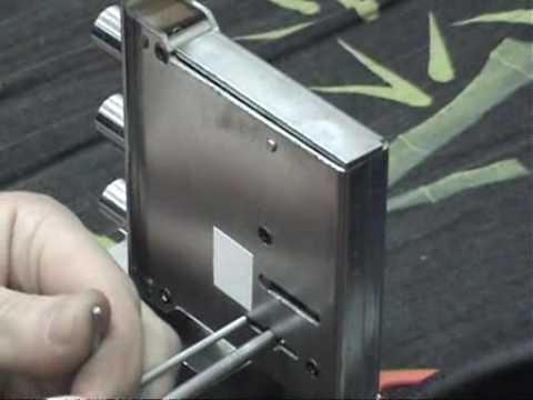 Взлом отмычками Juwel   Juwel self impressioning tool. (Вскрытие Juwel с помощью самоимпрессии. Секретность второго оборота симметрична первому.)