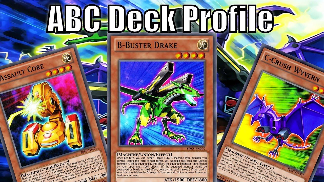 Abc Deck Profile  October 2016  Explanations &bos