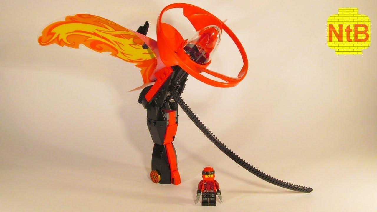 NEW Lego Ninjago Kai Dragon Master Factory Sealed 70647