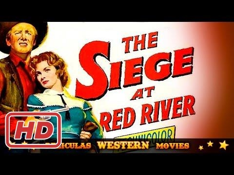 Siege at Red River ★★☆ WESTERN MOVIE...