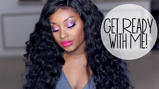 Get Ready with Me | Holiday Party Look #2! (Makeup)