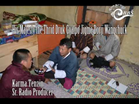 His Majesty the Third Druk Gyalpo Jigme Dorji Wangchuck
