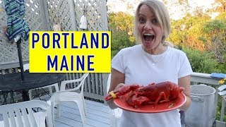 Portland Maine Full Time RV (part 1) 🦞  | Changing Lanes!