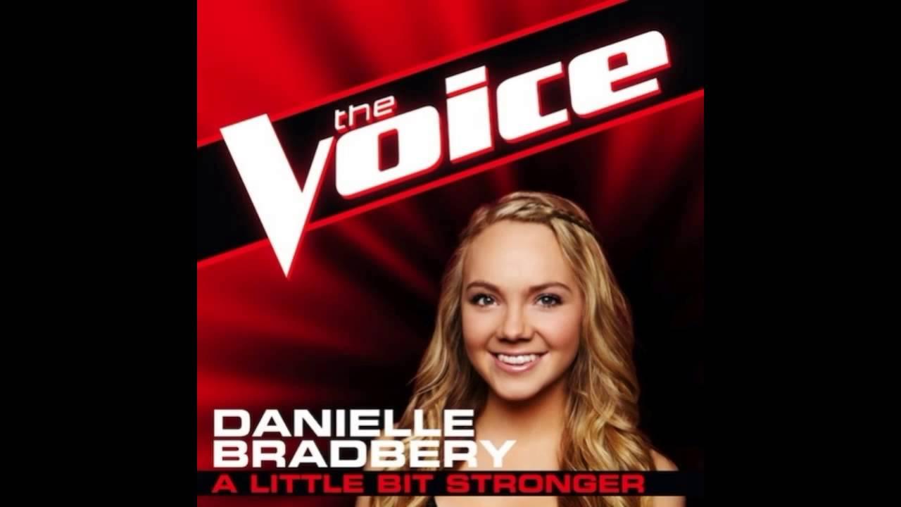 danielle bradbery a little bit stronger