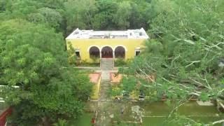Hacienda Uayamon en Campeche. #drone #dji