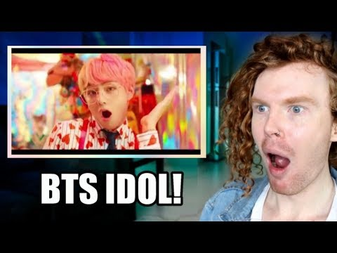 AUSTRALIAN REACTS TO BTS IDOL!!! (Kpop Kings)
