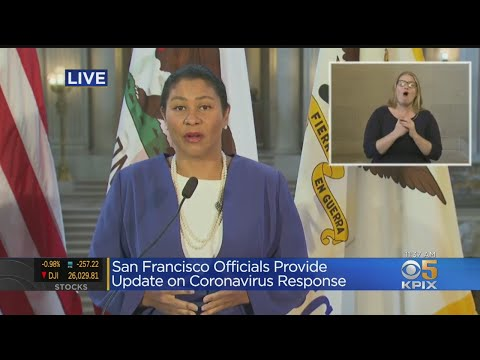 RAW: San Francisco Officials Give Update On City's COVID-19 Response