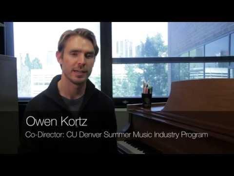 CU Denver Summer Music Industry Program