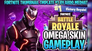 FREE Fortnite Battle Royale Thumbnail Template [2018] (PSD)