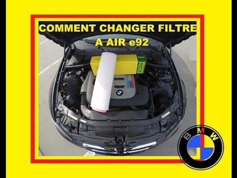 Comment changer son filtre air bmw 330d e92 e90 e93 youtube - Comment changer chambre a air ...