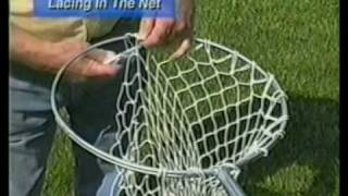 Making A Crab Net   Pt 4 of 4