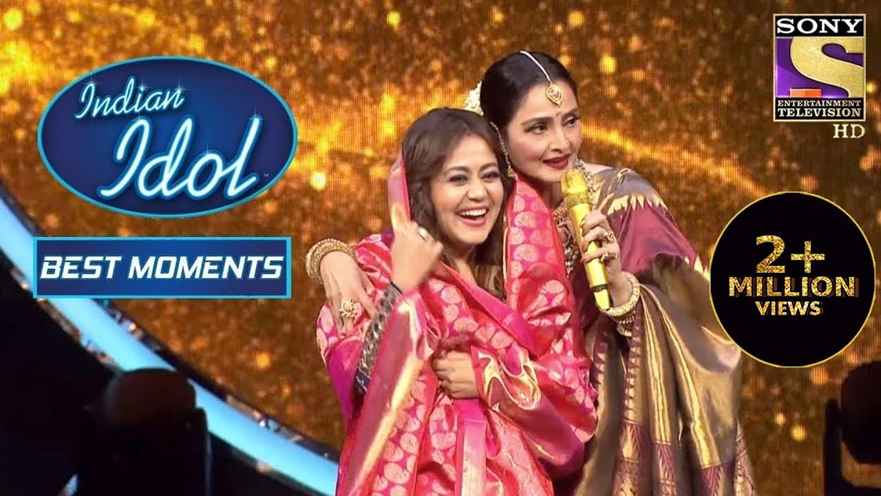 Download Rekha जी ने दिया Neha को एक ख़ास तोहफ़ा | Indian Idol Season 12