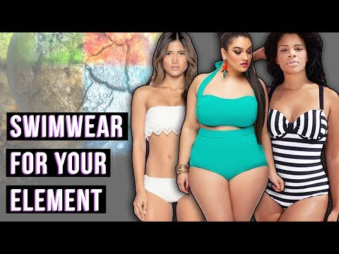 Hot Summer Swimwear for Your Cosmic Element // Cosmic Closet | Hissyfit
