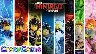 The LEGO Ninjago Movie 2017 Complete Game Movie w/ Ending & Credit (4 Hour)