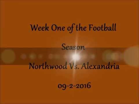 Tj #14-- 2016 -17 Sophomore Football Season Northwood vs  Alexandria