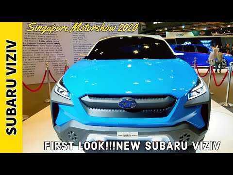 Singapore Motorshow 2020 : FIRST LOOK!!!NEW SUBARU VIZIV ADRENALINE - AWESOME SUV CONCEPT