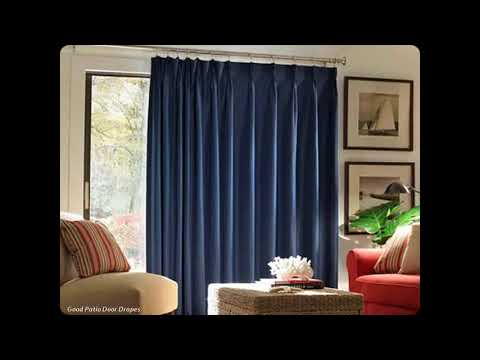 Outdoor patio Door Drapes