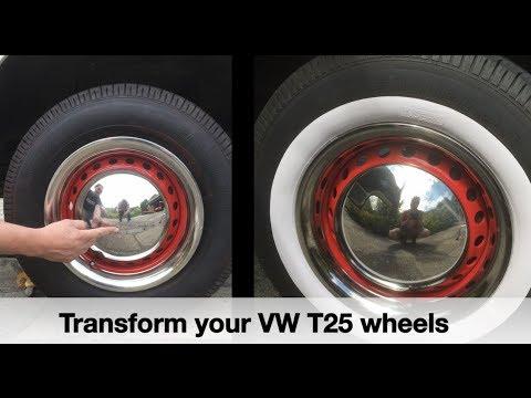 Transform your steel VW T25 / T3 / Vanagon Wheels