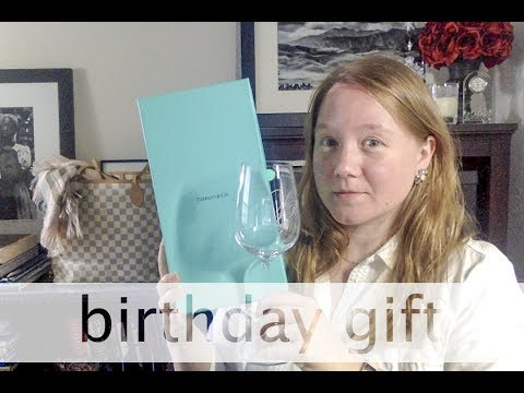 UNBOXING: Custom Tiffany & Co Wine Glass || Autumn Beckman