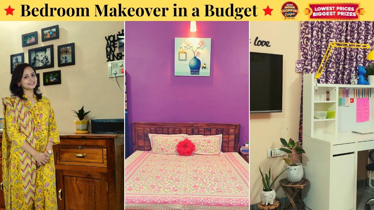 Bedroom Makeover from Meesho / Bedroom Organization / Urban Rasoi #MeeshoMahaIndianShoppingLeague