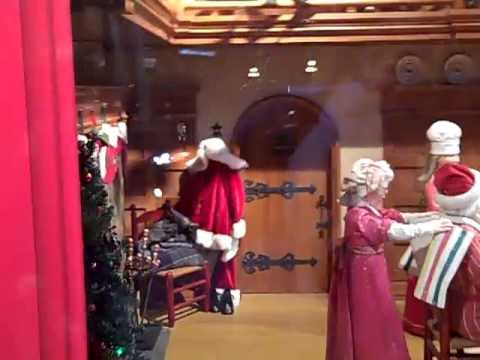 The Bay window: Santa's post-delivery snack