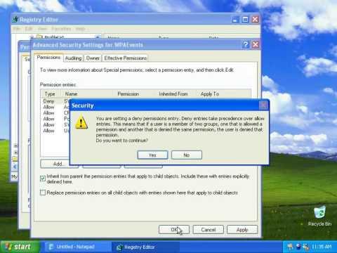 Windows XP: Activation Bypass