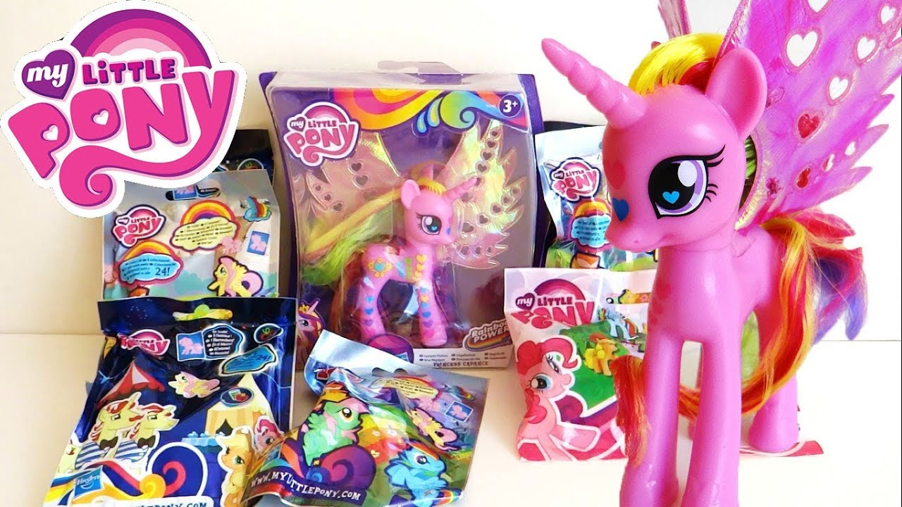 My Little Pony Toys : My little pony blind bags princess cadance toy unboxing