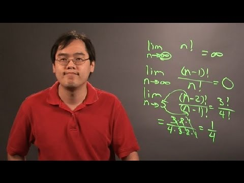 How to Find the Limit of a Factorial Function : Principles of Math