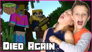 I Died Again / Minecraft Survival mini games with RonaldOMG