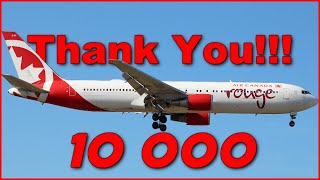 10k Subscribers - Thank You | Plane Music Video