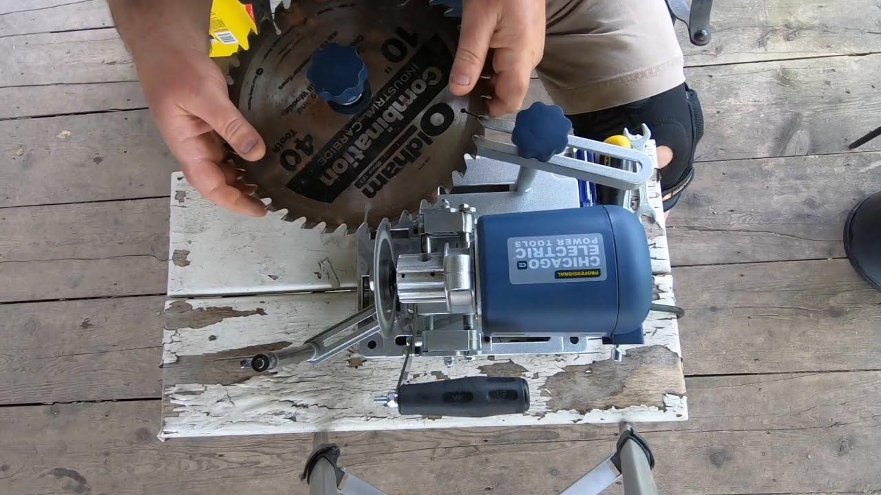 Chicago electric 96687 blade sharpener videos