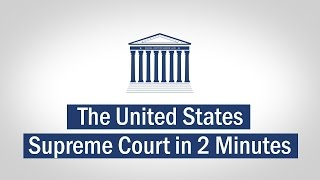 The United States Supreme Court Explained In 2 Minutes