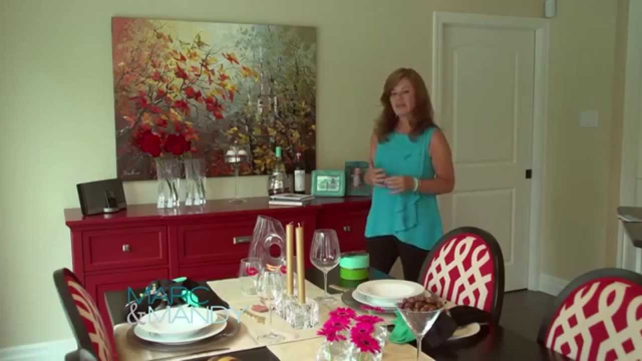 Setting a Romantic Table for Two - YouTube