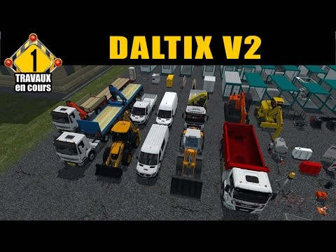 Farming Simulator 15 / Pack VRD by  FT Modding /  Découverte/ EP 1 /TRAVAUX PUBLIC