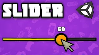 Thumbnail for 'Unity Slider in 4 Minutes - [Unity Tutorial]'
