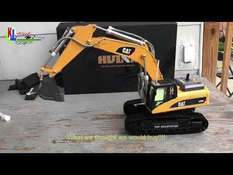 Buying Die-cast 2.4 Ghz RC Excavator Off Facebook