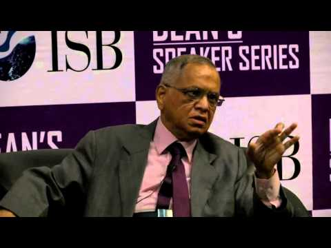 Dean's Speaker Series: An interaction with N R Narayana Murthy