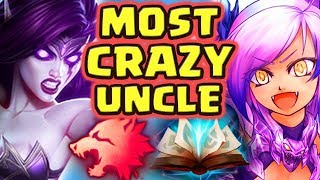 MEET MY CRAZY UNCLE JAMAL!! THE MOST TROLL GAME EVER | I MAKE CHALLENGERS LOOK BRONZE SKARNER JUNGLE