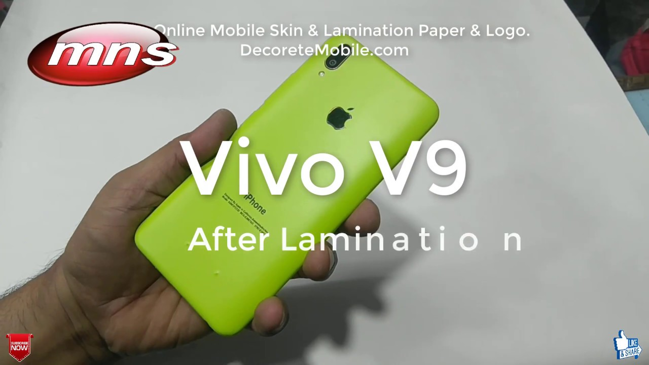 Vivo V9 plus Convert to iPhone buy decorate mobile & MNS Computer
