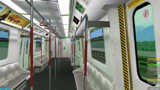 [openBVE] K-Train on Kwun Tong Line (Choi Hung to Kwun Tong)
