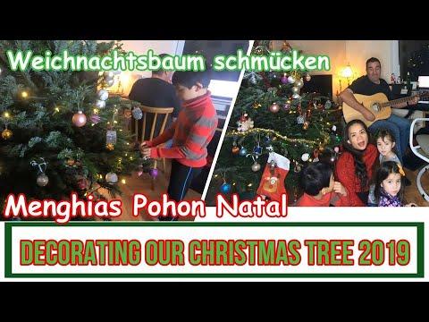Keseruan Kami Menghias Pohon Natal Dengan Anak Anak Di Jerman - Decorating Our Christmas Tree 2019