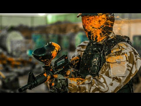 WORLDS CRAZIEST PAINTBALL MATCH!! *PAINFUL BRUISING*